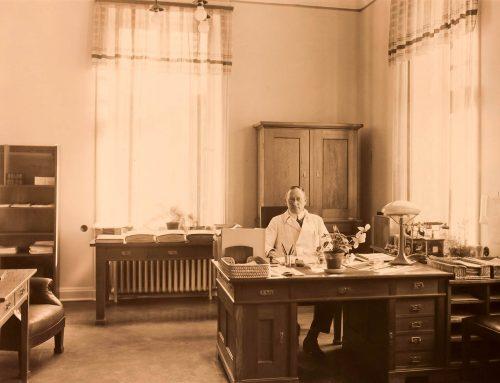 Läkare på Långbro sjukhus