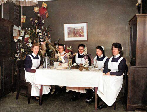 Jul på Långbro sjukhus
